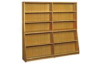 図書室傾斜書架